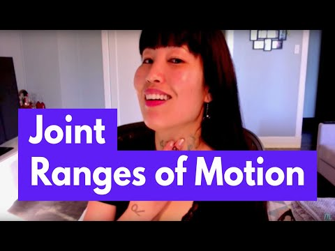 Joint Range of Motion (Upper Extremity)