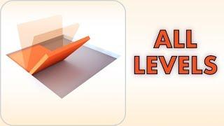 Folding Blocks | ALL LEVELS | Walkthrough