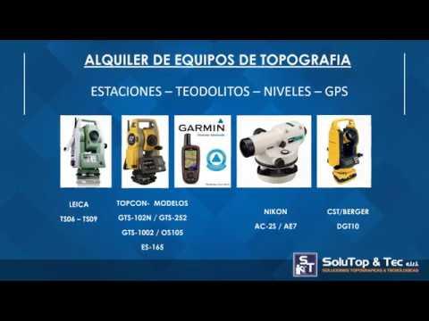 Soluciones Topográficas y Tecnológicas  | Equipos Topográficos - Alquiler / Venta / Servicio