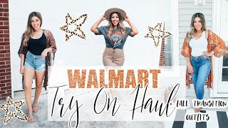 Walmart Try On Haul | Summer & Early Fall Outfits | 2020