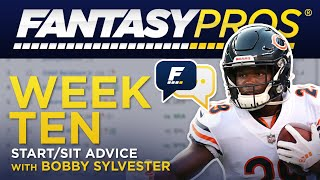 Live: Week 10 Start/Sit (2019 Fantasy Football)