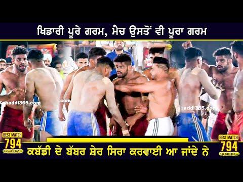 794 Best Match | Jodhan Vs Dhandoli Khurd | Lalton Kalan (Ludhiana) Kabaddi Tournament 11 Apr 2021