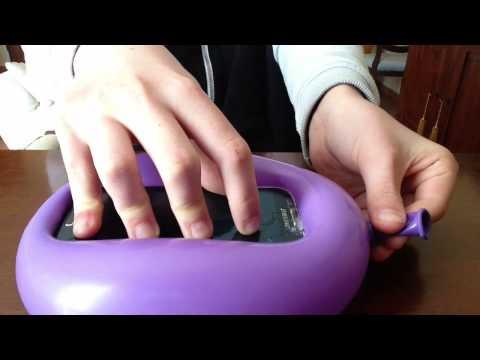 Come creare una cover per cellulare con un palloncino