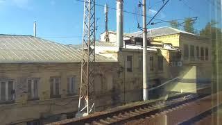 прибытие поезда на казанский вокзал