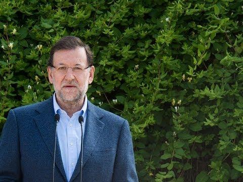 Rajoy: Sería bueno que todos los que tengan derecho al voto, lo ejerzan