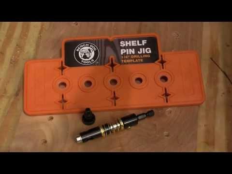 Bench Dog Shelf Pin Jig Review: NewWoodworker