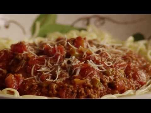 Beef Recipes – How to Make Spaghetti Sauce with Ground Beef