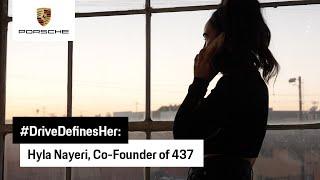 #DriveDefinesHer: Hyla Nayeri