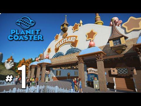 สวนสนุกสำหรับคนเมือง - Planet Coaster #1(HEARTLAND V2)