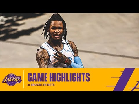 HIGHLIGHTS | Ben McLemore (17 pts) at Brooklyn Nets