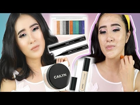 EASY SMOKEY EYE TUTORIAL I  CAILYN COSMETICS I UNDONE BEAUTY PALETTE AT AMAZON