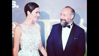 Awarding of Halit Ergenc and Berghuzar Korel at the ceremony of BIAF2018