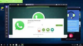 Whatsapp Download For Laptop (Using Bluestacks)