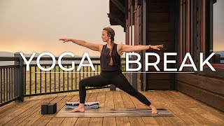 Yoga Break at Sunset with Laura Brown