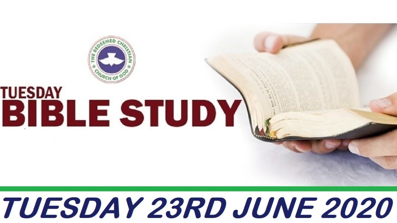 RCCG 23rd June 2020 Bible Study with Pastor E. A. Adeboye