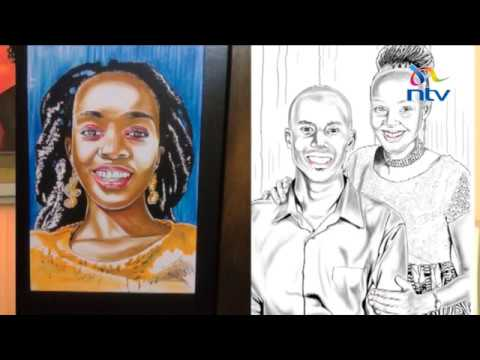 Against all odds: Artist without hands paints portraits