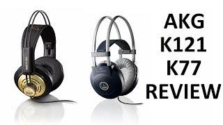AKG K77 & K121 Studio Headphones Review | Redline Technologies
