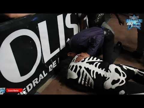 Accidente de LA PARKA en Coliseo Monterrey