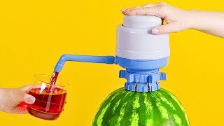 How to Make Watermelon Juice Dispenser