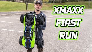 Traxxas Xmaxx 8s Unboxing and First Run