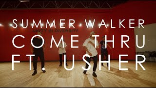 Summer Walker Ft. Usher    Come Thru   @mikeperezmedia @mdperez88 Choreography