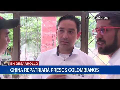 Colombia y China, a un paso de firmar acuerdo de repatriacion de detenidos por razones humanitarias