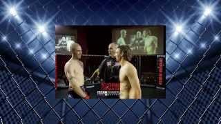 Joe 'The Bogan' Pollock MMA fight at Storm damage 7