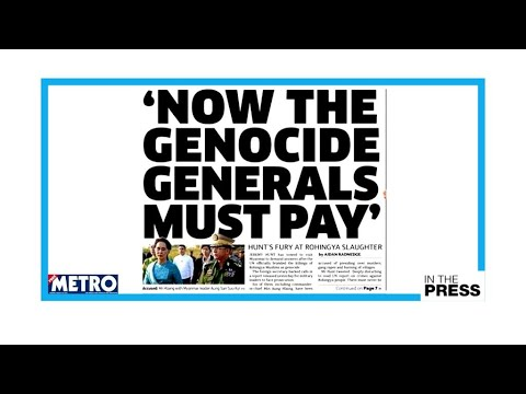 UN report on Myanmar: Will the 'genocide generals' be brought to justice?