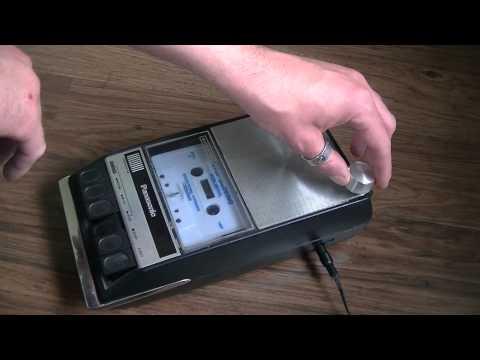 Circuit Bent Panasonic Cassette Player Diederich Electronics Ambient