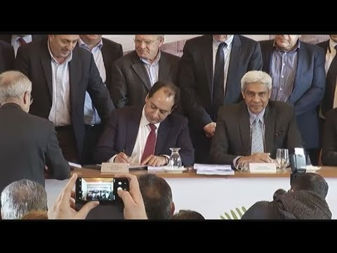Υπεγράφη η σύμβαση για το νέο Αεροδρόμιο Ηρακλείου στο Καστέλλι