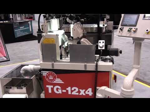 TG-12x4 Thrufeed Microsize System Shown at IMTS 2018