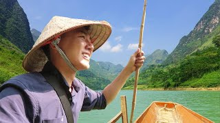 Bữa ăn nơi TIÊN CẢNH HIẾM NGƯỜI BIẾT |Du lịch Hà Giang Việt Nam #7
