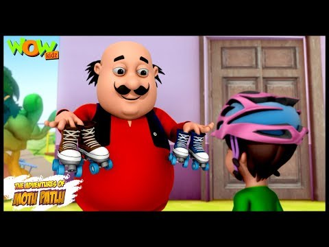 Motu The Roller Skate Coach Motu Patlu In Hindi 3d Animation
