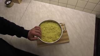 Как запаривать пшено для прикормки
