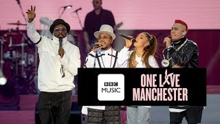 Black Eyed Peas And <b>Ariana Grande</b>  Where Is The Love One Love Manchester
