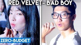 K POP WITH ZERO BUDGET! (Red Velvet  'Bad Boy')