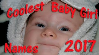 COOLEST BABY GIRL NAMES 🌸Best Baby Names!