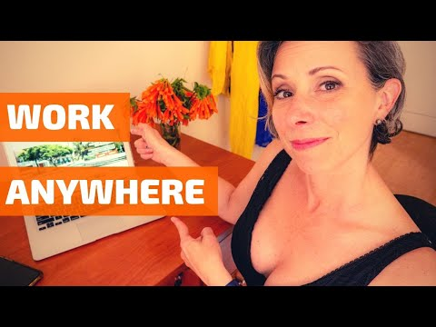 Work Remotely Online from Anywhere: How to Make Money Living Abroad (& Start BEFORE You Leave Home)