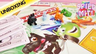 Wir spielen Monopoly Junior | Kathi erklärt die Regeln - Unboxing und Demo