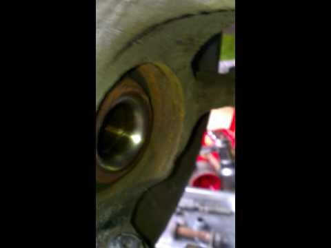 Wheel bearing noise on a vw fox