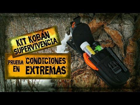 KIT DE SUPERVIVENCIA Kobán | Prueba en CONDICIONES EXTREMAS | SURVIVAL KIT