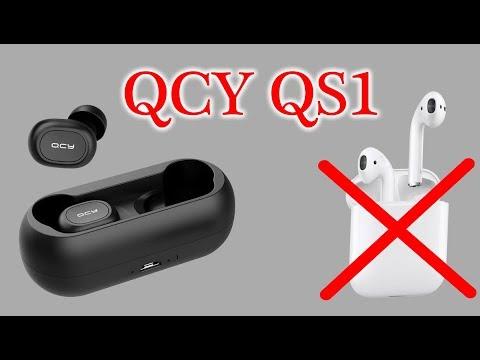 QCY T1C | QCY QS1 | САМЫЕ ПОПУЛЯРНЫЕ БЛЮТУЗ TWS НАУШНИКИ ALIEXPRESS