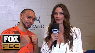 Thurman upbeat after loss to Pacquiao: 'I know that I got his respect in the ring' | PBC ON FOX