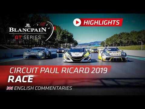 45m Highlights - Paul Ricard 1000K 2019  - Blancpain Gt Series