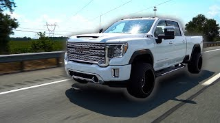 The FIRST EVER 2020HD Denali Duramax on 22x14's!