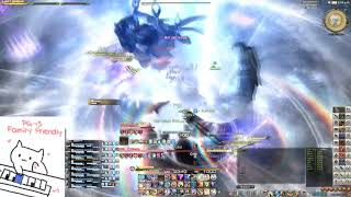 FF14 Alphascape Savage Turn 4 Cleared! WAR PoV System out println