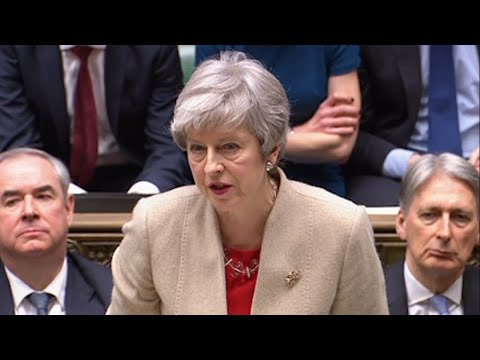 U.K. lawmakers on Friday rejected the government's divorce deal with the European Union for a third time, leaving Britain's departure up in the air. (March 29)