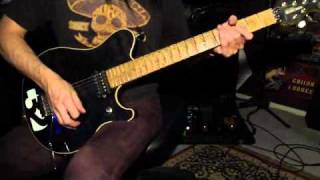 Jerry Cantrell - Anger Rising (EASY TO LEARN riff lesson)