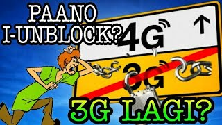 How to UNBLOCK TNT Simcard  3G to 4G 2020 (LAGING 3G BA?)