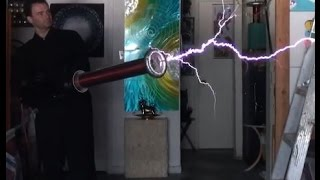 CIA Tesla Gun - Death Ray Energy EMP Ion Cannon
